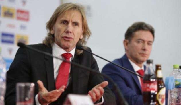 Ricardo Gareca anunció su renovación en la selección peruana de fútbol.