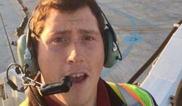 Richard Russell, el protagonista de la emergencia aérea en Seattle