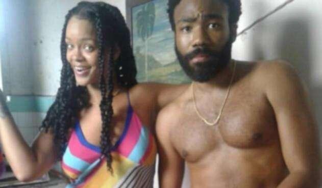 Rihanna y Donald Glover