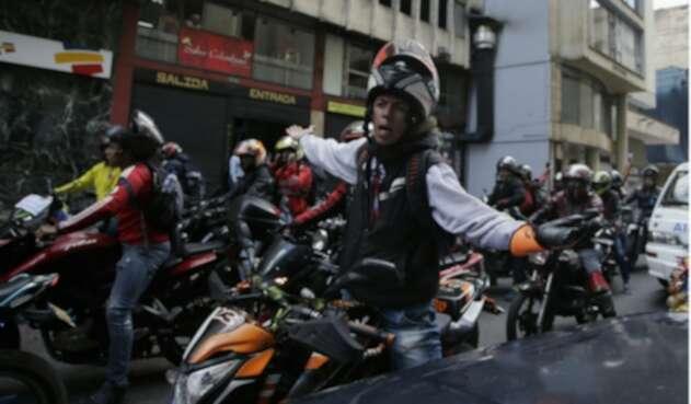 Picap es una aplicación que presta un servicio de mototaxi.