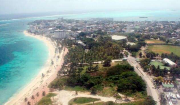 Panorámica Isla de San Andrés