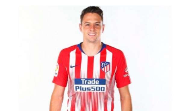 Santiago Arias se estrenó como lateral por derecha del Atlético de Madrid
