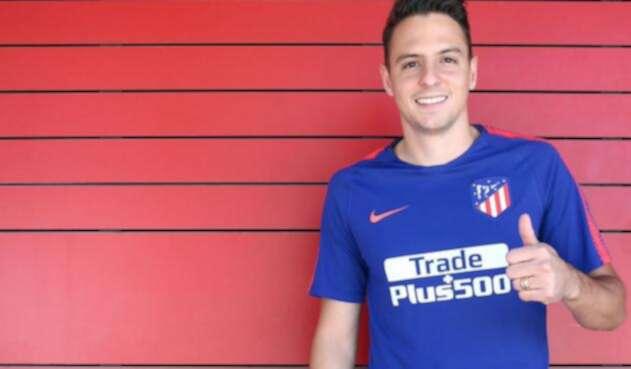 Santiago Arias como nuevo jugador del Atlético de Madrid