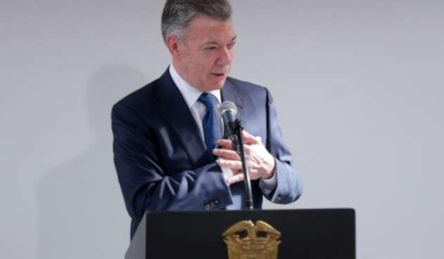 Juan Manuel Santos, expresidente de Colombia