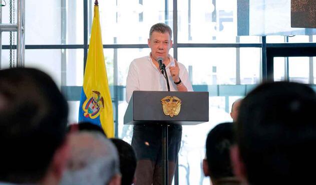 El presidente afirmó que el país necesita moderación, unión y superar los odios,