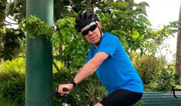 El expresidente Juan Manuel Santos en Miami (Estados Unidos)