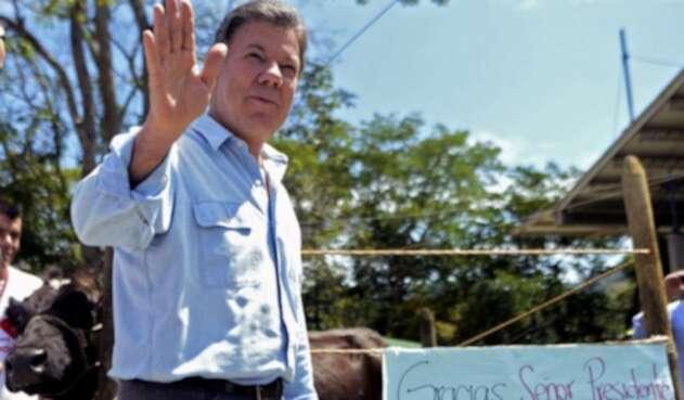 Juan Manuel Santos, expresidente