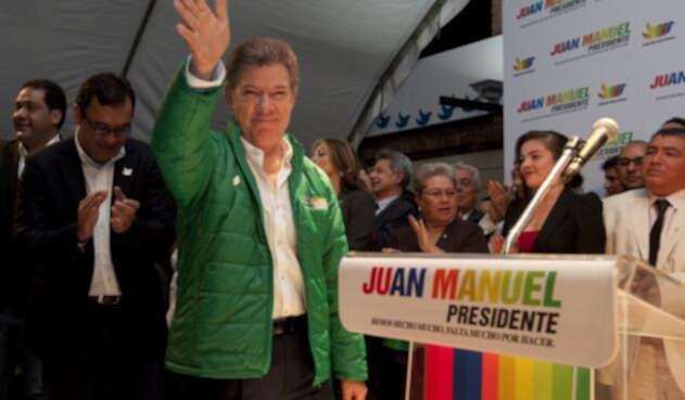 Campaña Santos Presidente 2014