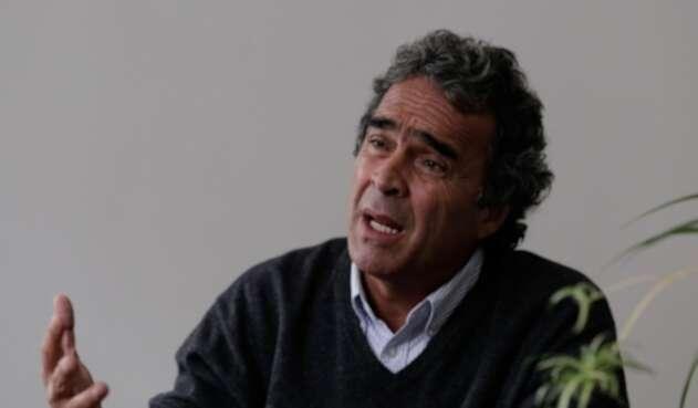 Sergio Fajardo habló sobre el discurso de Ernesto Macías.