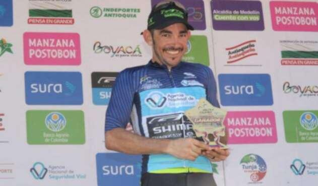 Ciclista José Serpa
