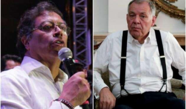 Gustavo Petro y Alejandro Ordóñez.