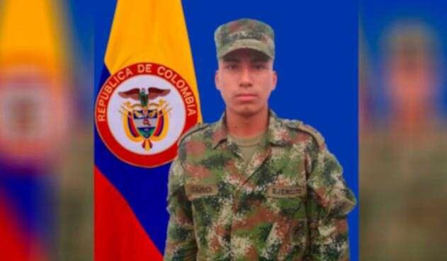 Eduardo Caro Bañol adelantaba el proceso para ser soldado profesional