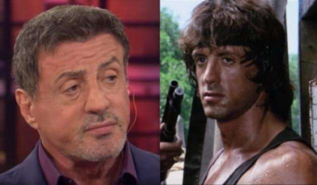 Sylvester stallone como 'Rambo'