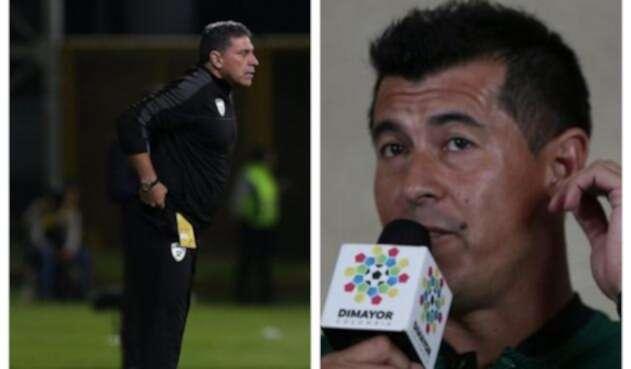Luis Fernando Suárez y Jorge Almirón