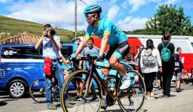 Superman López fue subcampeón de la Vuelta a Burgos
