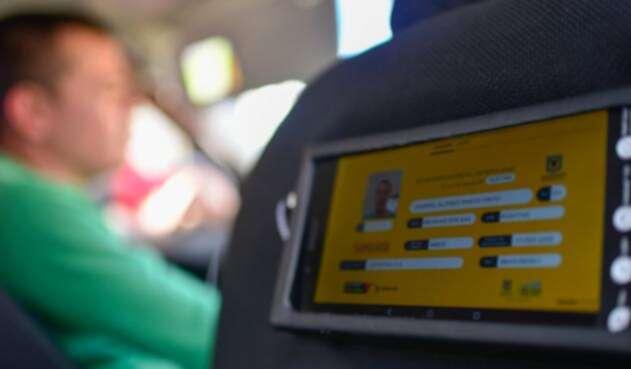 Taxi inteligente en Bogotá