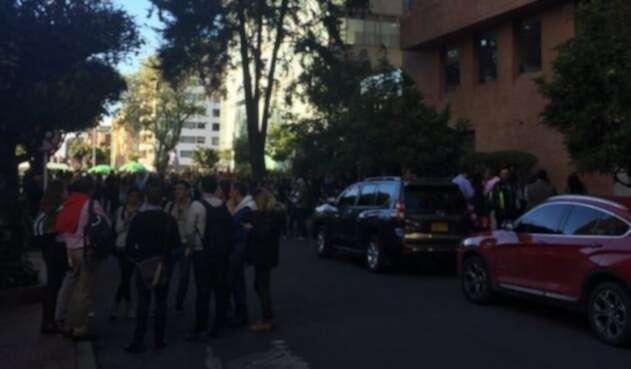 Temblor de Venezuela se sintió en Bogotá