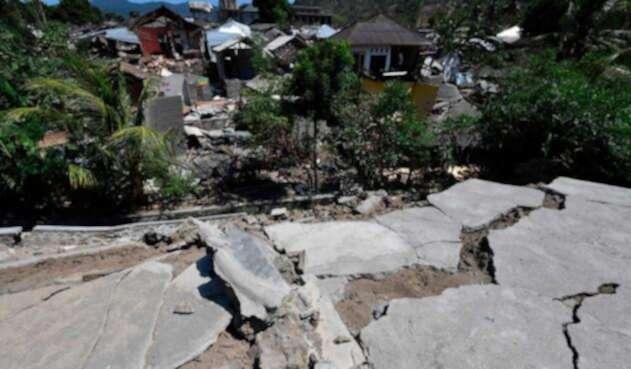 La zona de Lombok fue una de las más afectadas