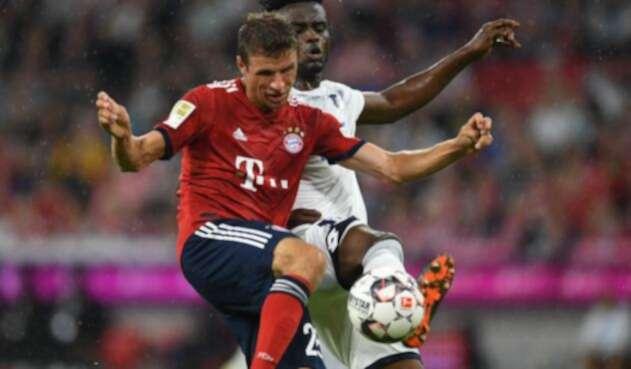Thomas Müller, jugador de Bayern Múnich