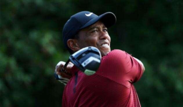 Tiger Woods durante la edición 2018 del PGA Championship