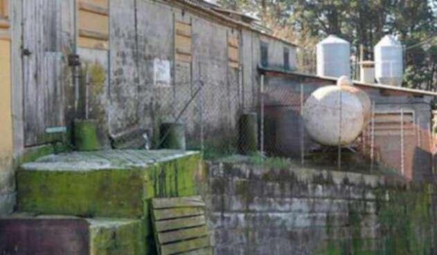 La granja de la empresaria española donde fueron hallados los colombianos