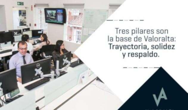 La sede de Valoralta en Bogotá