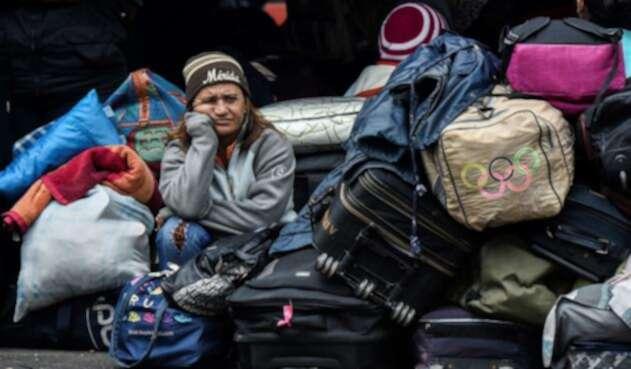 Hay crisis en Colombia por la situación de los migrantes venezolanos.