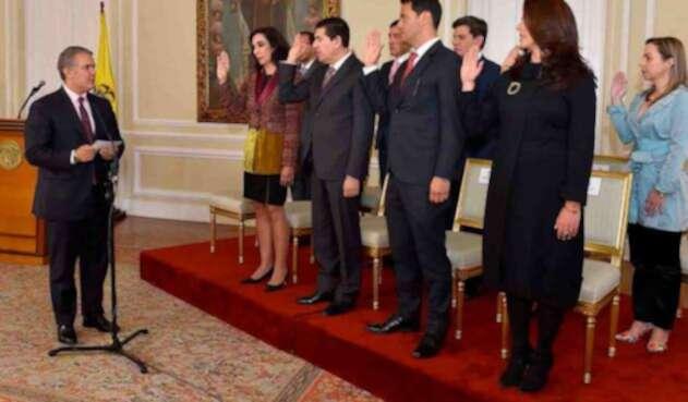 Viceministros de Duque