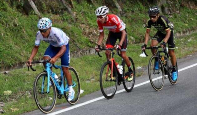 Walter Pedraza ganó la etapa cuatro de la Vuelta a Colombia