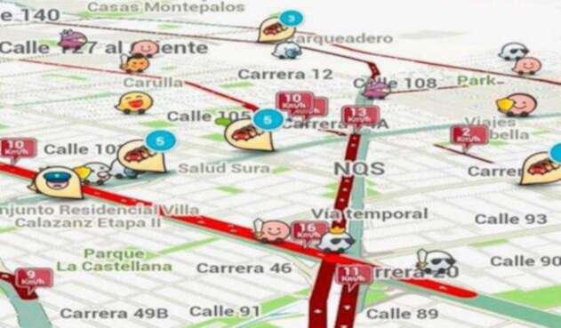 Waze, la aplicación para salir de los trancones