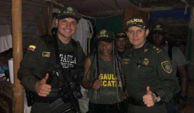 Rescate de la hija de alcalde Sipí, Chocó, en Cali.