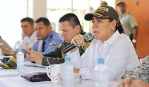 La mandataria interina manifestó que las acciones establecidas son inmediatas.