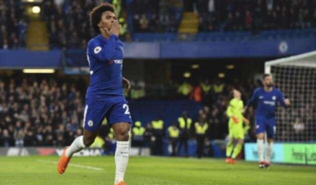 Willian, jugador del Chelsea