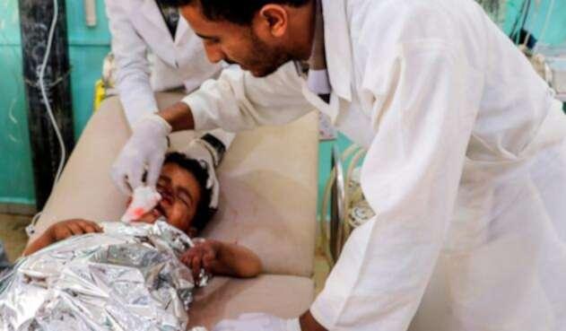 Uno de los menores heridos en el atentado en Yemen