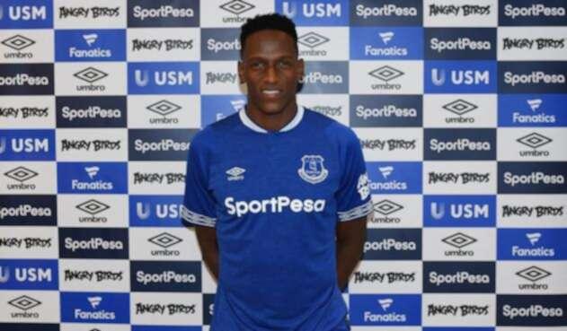 Yerry Mina, defensor del Everton