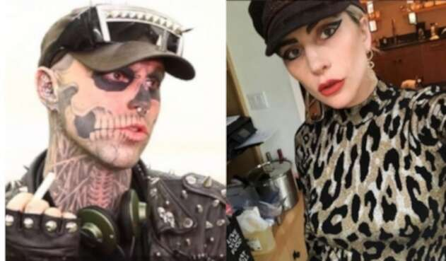 'Zombie Boy' y Lady Gaga