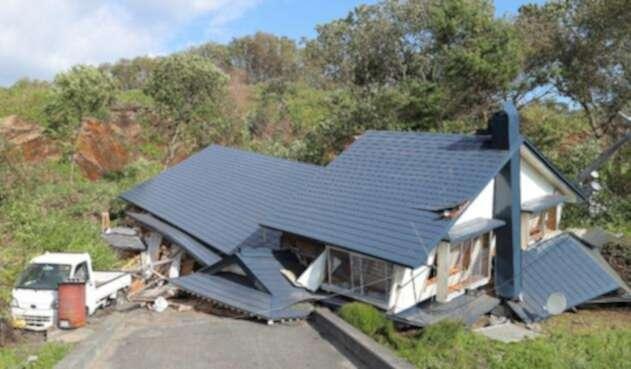 Un fuerte sismo de magnitud 6,6 sacudió la isla de Hokkaido, en el norte de Japón