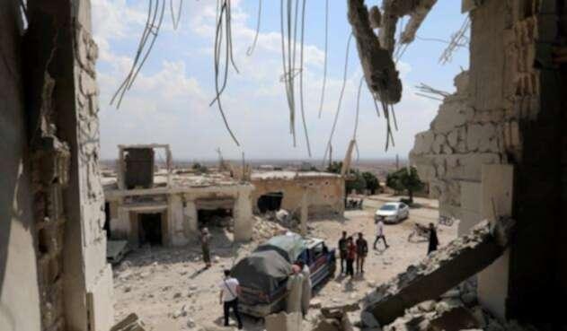 La guerra en Siria ha provocado la muerte de 350.000 personas desde 2011.