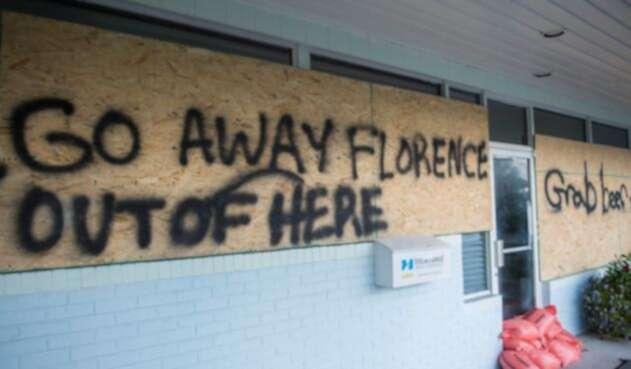 El huracán Florence bajó a categoría 3.