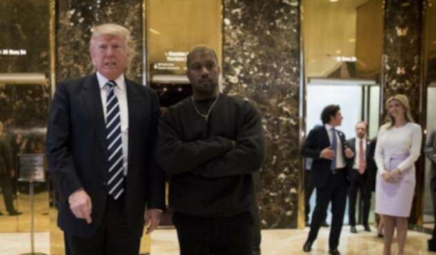 Donald Trump y Kanye West
