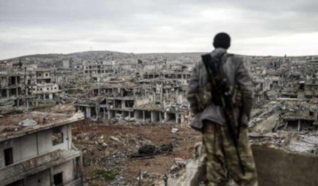 La guerra en Siria dejó más de 360.000 muertos desde que empezó en 2011.