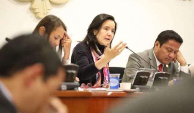 Sylvia Constaín, ministra de las Tecnologías de la Información y las Comunicaciones