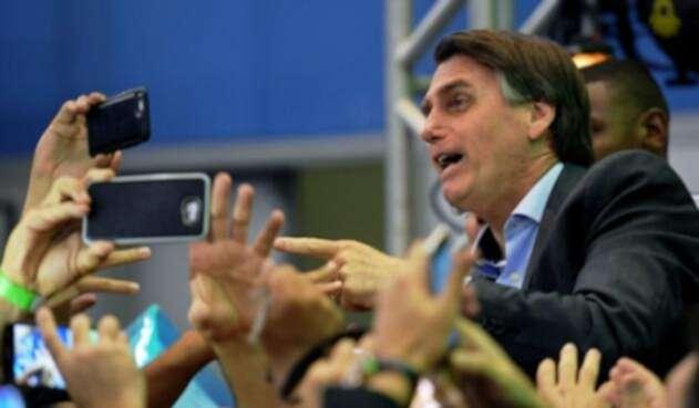 Jair Bolsonaro.