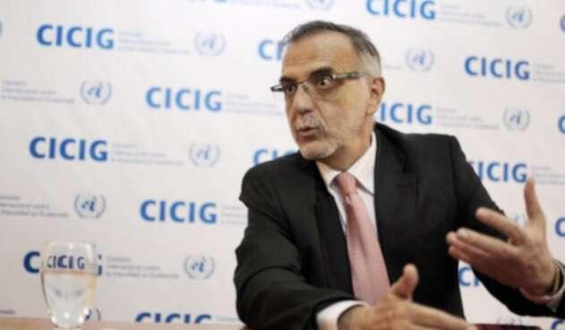 El colombiano comisionado de la ONU, Iván Velásquez.