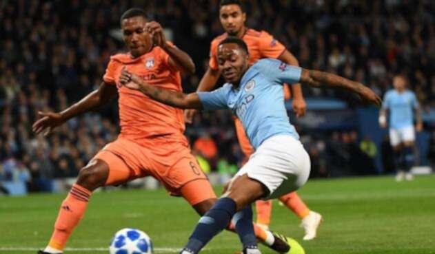 Manchester City perdió ante Lyon en el debut de la Champions