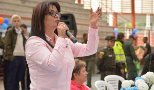 Alcladesa de La Calera Ana Lucía Escobar