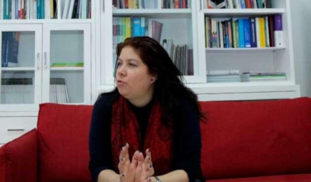Alejandra Barrios, directora de la Misión de Observación Electoral (MOE)