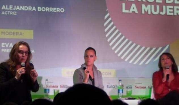Alejandra Borrero, Eva Rey y Amparo Grisales