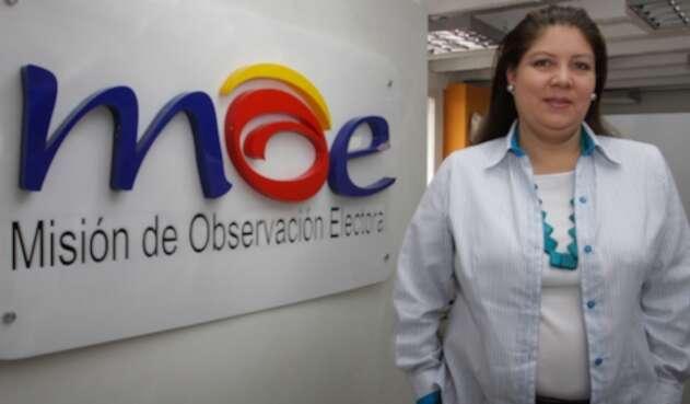 Alejandra Barrios, directora del a Misión de Observación Electoral
