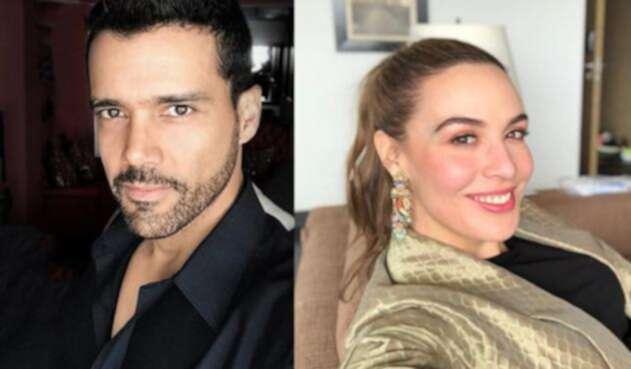 Alejandro García y Mónica Fonseca